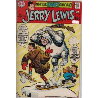 The Adventures of Jerry Lewis #116 Comic Book Everything Else
