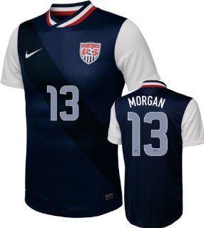 Alex Morgan #13 Away Nike Soccer Jersey United States