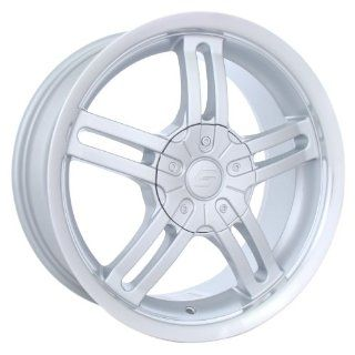 Silver) Wheels/Rims 4x100/114.3 (2126701SF)    Automotive