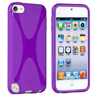 BasAcc Purple TPU Rubber Case for Apple® iPod touch 5th Generation
