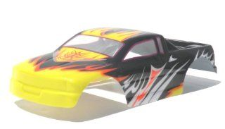 28610 PAINTED BODY SHELL FOR 1/16 SCALE MONSTER TRUCK