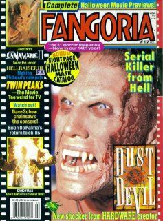 Fangoria Magazine Issue #117 Dust Devil (October 1992) Anthony