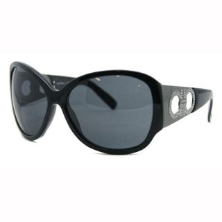 Salvatore Ferragamo Womens Black Fashion Sunglasses