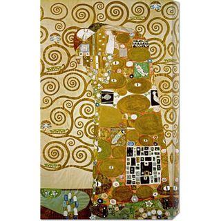 Gustav Klimt Fulfillment Stretched Canvas Art