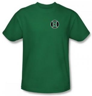 Green Lantern Kyle Rayner Logo Kelly Green Adult Shirt