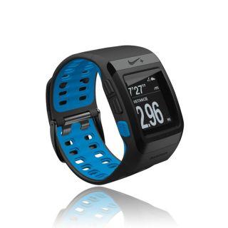 TomTom Nike+ SportWatch Black/Blue montre GPS   Achat / Vente GPS