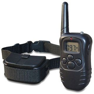Merske 300 yard Pet Trainer 2 dog Remote Training System with LCD
