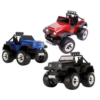 Blue Hat Remote controlled Off road Safari Truck with LED Lights Today