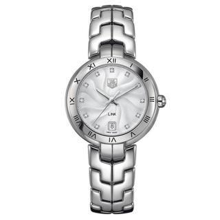 Tag Heuer Womens Stainless Steel Diamond Watch