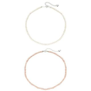 Pearlyta Sterling Silver Childrens Freshwater Pearl Necklace (4 5 mm