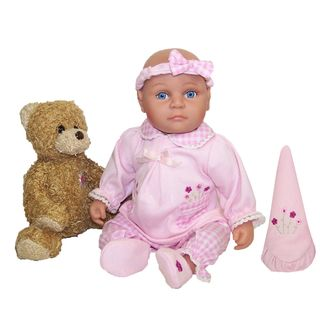 Me and Molly P. 13 inch Wendi Baby Doll and Bear Toy