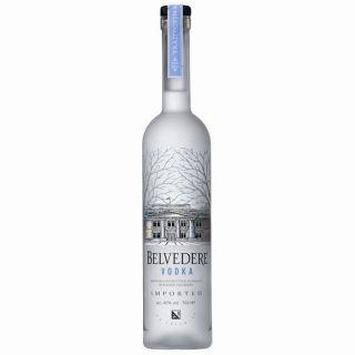 Vodka Belvedere pure   Vodka Premium de Luxe   Origine Pologne   70cl