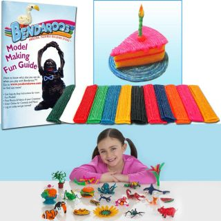 As Seen on TV Bendaroos 750 piece Model Art Building Kit