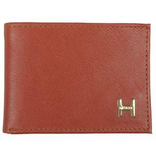 Tommy Hilfiger Mens Genuine Leather Slim Passcase Wallet