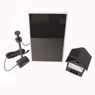 watt Solar Powered Water Pump Kit