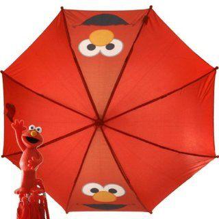 123 Sesame Street Elmo Red Umbrella School Supplies Toys