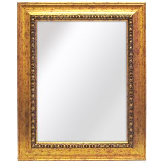 Weldon 28 Inch x 34 Inch Gold Wall Mirror with Bevel Today $66.99