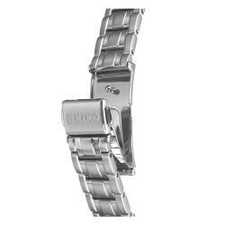 Seiko Womens Diamond Stainless Steel Quartz Watch