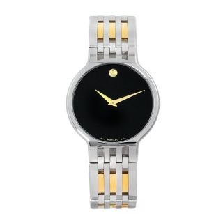 Movado Mens Esperanza Two tone Stainless Steel Watch