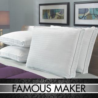Famous Maker High Loft 305 Thread Count Pillows (Set of 4)