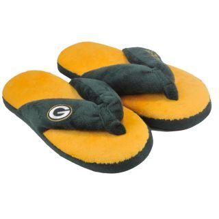 Green Bay Packers Womens Flip Flop Thong Slipper