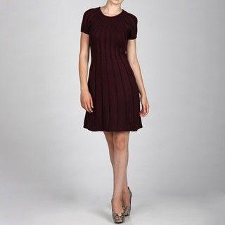 Jessica Howard Womens Pintuck Trap Dress FINAL SALE
