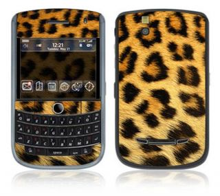 Leopard Print BlackBerry Tour Decal Skin