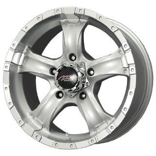 MB Wheels Chaos Silver Machined Wheel (16x8.5/5x127mm)