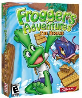 Froggers Advenures he Rescue Pc Video Games