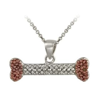 DB Designs Rose Gold over Sterling Silver Champagne Diamond Accent