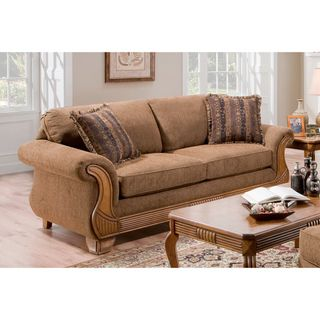 Sullivan Too Good Chocolate/ Tango Coffee Sofa