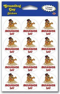 Groundhog Day Stickers (132 Pack)