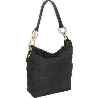 JPK Paris Bucket Nylon Shoulder Bag,Black,one size Shoes