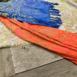 Rayon Batik Fall Color Shawl (Indonesia)