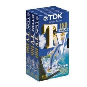 Cassette VHS E 180TV   180 min.   3 unités   Achat / Vente VHS VHS