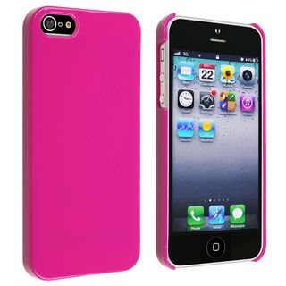 BasAcc Hot Pink Ice cream Snap on Case for Apple® iPhone 5