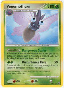 Pokemon Diamond and Pearl Secret Wonders Venomoth 73/132 Toys & Games