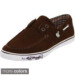 Ed Hardy Womens Nalo Solid Suede Boat Shoes Today $54.99   $55.79
