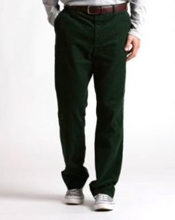 Savile Row Mens Forest Green Corduroy Clothing