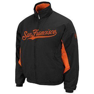 San Francisco Giants Authentic Black Triple Peak Premier Jacket by