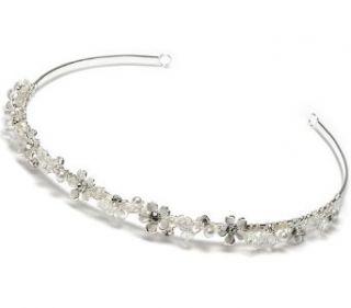 Wedding Headband Bridal Tiara with Floral Rhinestone 137 Clothing