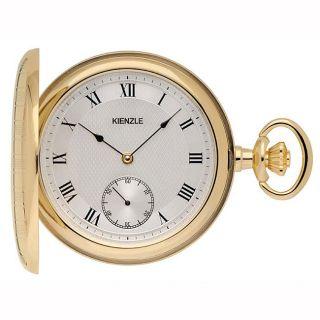 Kienzle Germany Savonette Goldplated Quartz Pocket Watch