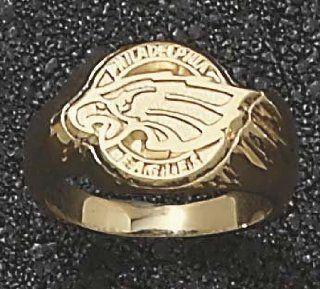 Baltimore Ravens Shield Logo 5/8 Mens Ring Size 10 1/2