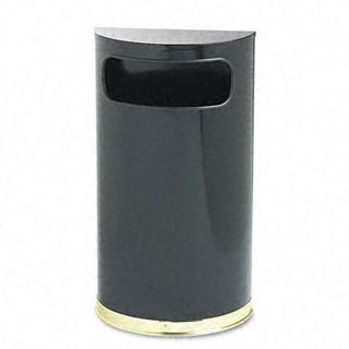 Designer Line 9 gallon Half round Waste Receptacle