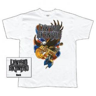 Lynyrd Skynyrd   Illustrated Eagle T Shirt   XX Large