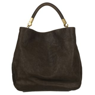 Yves Saint Laurent Roady Ranch Brown Leather Hobo Bag