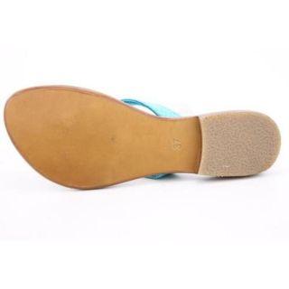 Cocobelle Womens Snake Blue Sandals