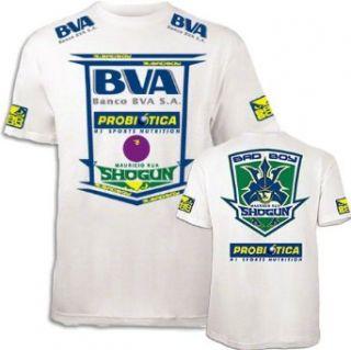 Boy Mauricio Shogun Rua UFC 139 Walkout T Shirt   White Clothing