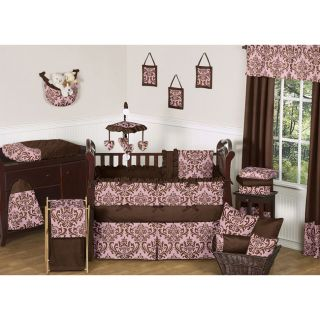Sweet Jojo Designs Nicole 9 piece Crib Bedding Set Today $189.99