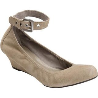 Womens Rockport Alika Anklestrap Seneca Rock Full Grain Leather
